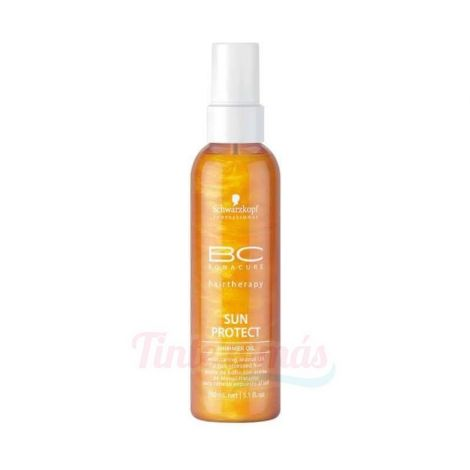 Schwarzkopf BC Sun Protect Shimmer Oil Aceite Protector Solar 150ml