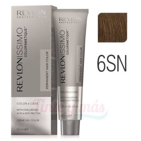 Revlon Revlonissimo Colorsmetique 6SN rubio oscuro supernatural 60ml.
