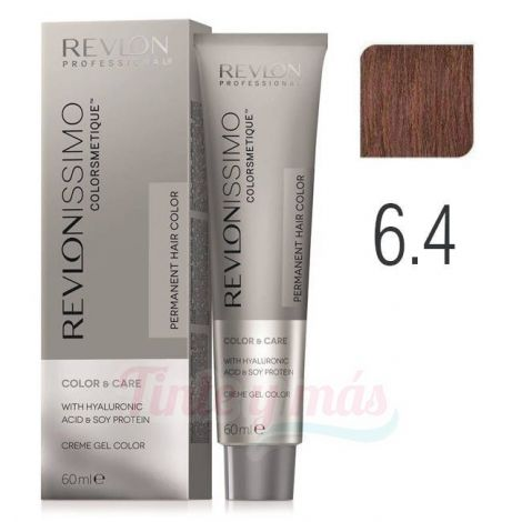 Revlon Revlonissimo Colorsmetique 6.4 rubio oscuro cobrizo 60ml.