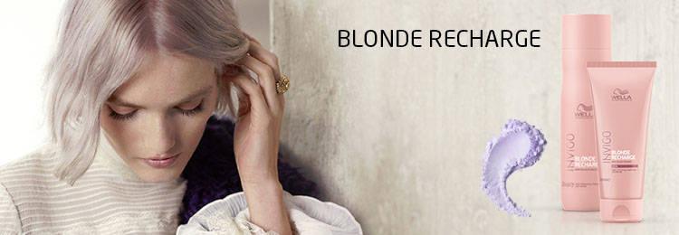 Champú y Acondicionador Invigo Blonde Recharge de Wella