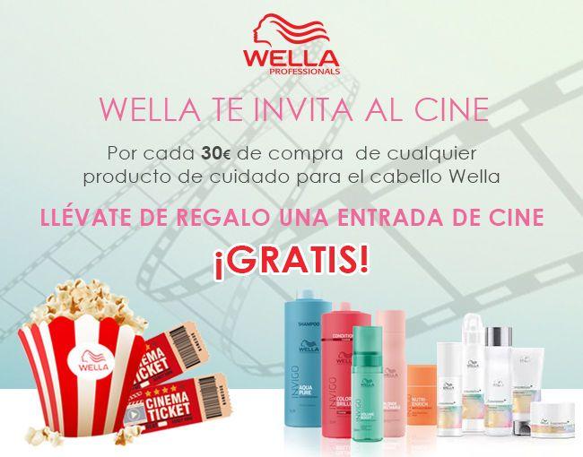 Promocion 2021 entradas de cine gratis con Wella